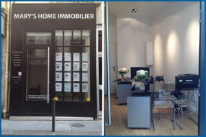 logo Mary's home immobilier